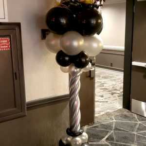Do you need a special color or themed balloon column for an upcoming event? Let us design one that fits your color choice & or theme.