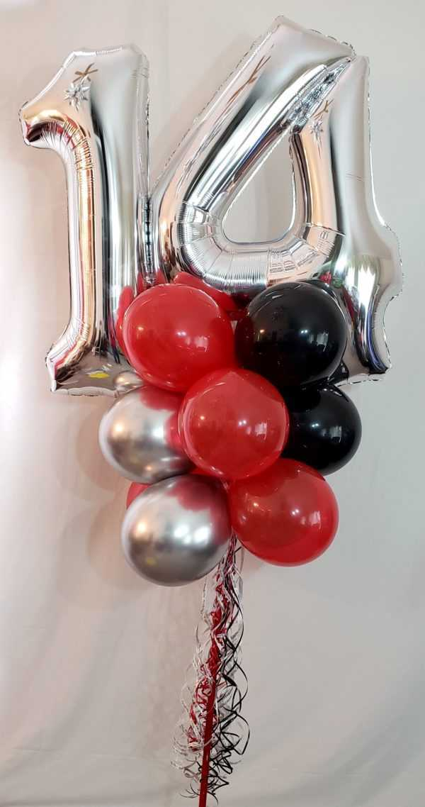 Do you need a B-Day balloon Yard Pole for that B-day Person? Let us make one with their favorite colors & of course their age number on top to make them feel special on their B-Day.
