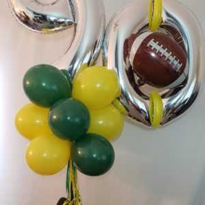 Do you need a special B-Day yard pole display? Let us create one for you in their favorite colors or theme.